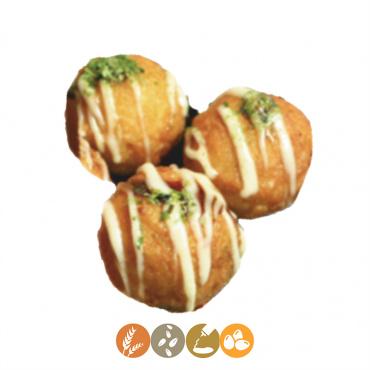 22.bolas de pulpo fritas