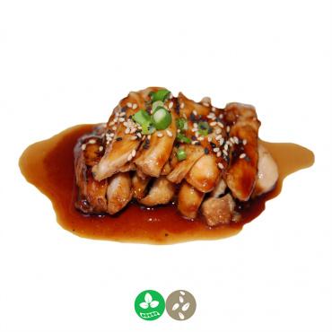 43.pollo con teriyaki