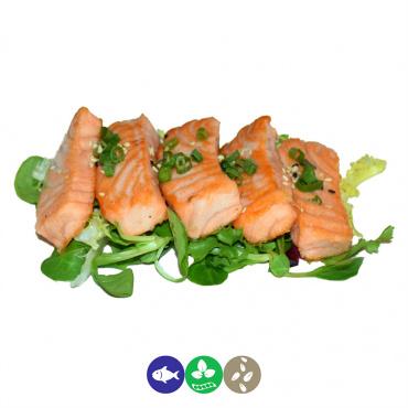 49.salmon a la plancha