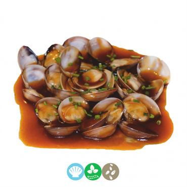 52.almejas con salsa especial