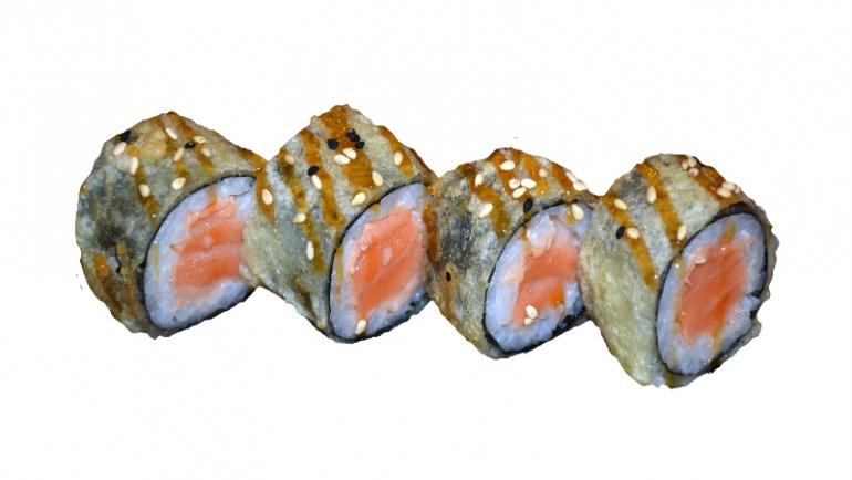 57.tempura de salmon