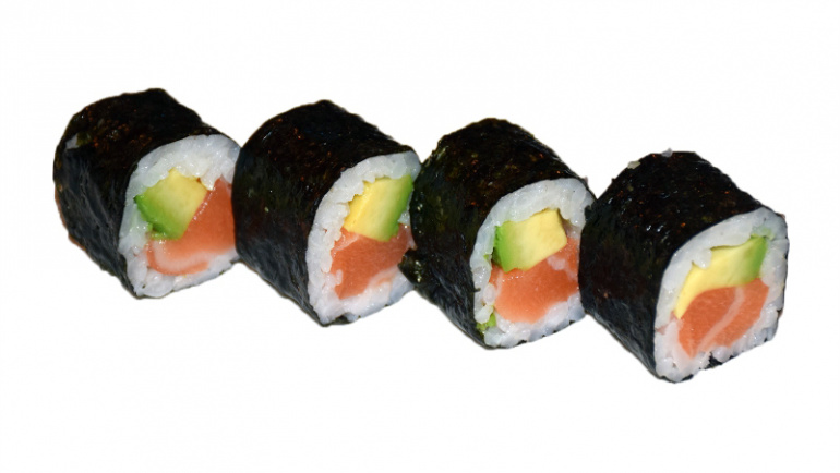 58.salmon y aguacate