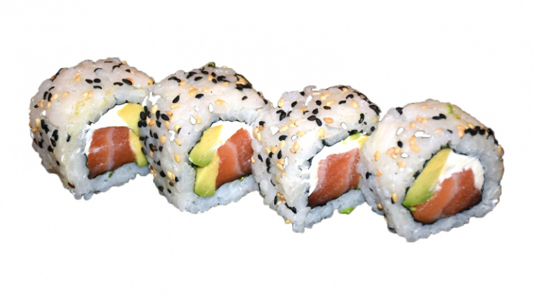 62.salmon,aguacate y queso