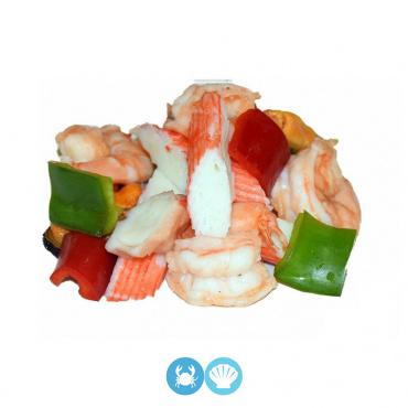 7.ensalada de mariscos
