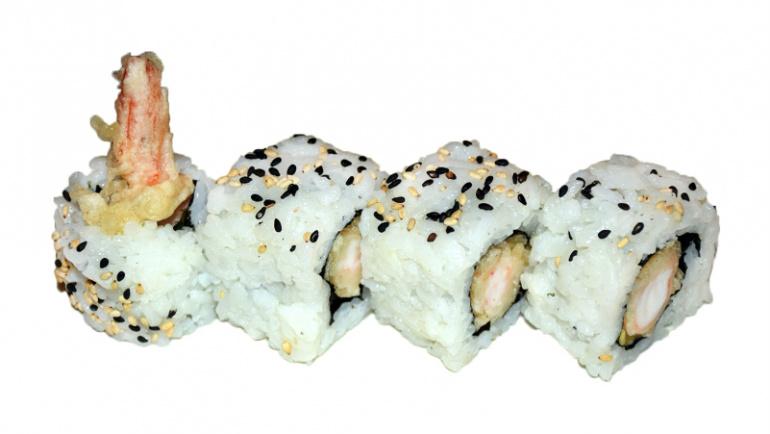 75.uramaki tempura langostinos