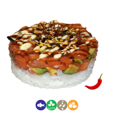 94.tartar de salmón