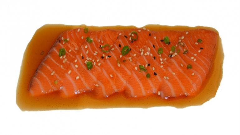 96.salmón y salsa ponzu