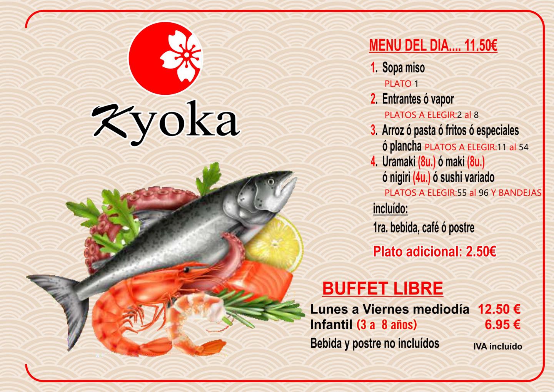 Kyoka Madrid carta mediodía_00
