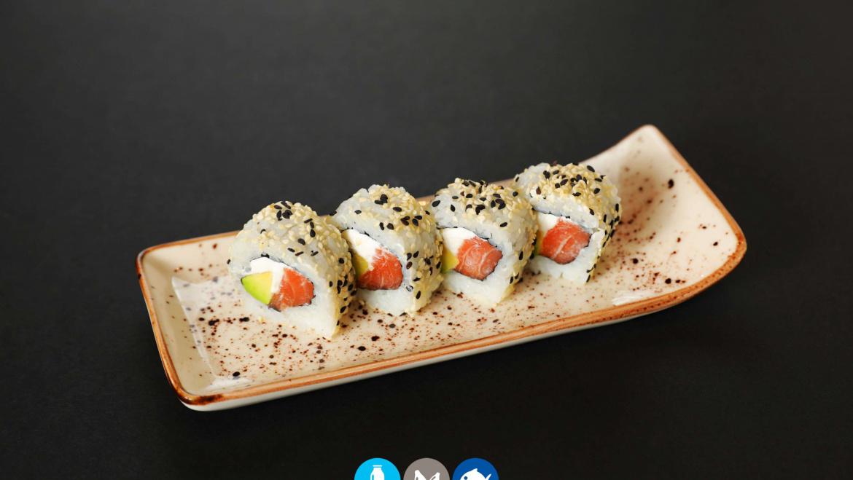 108.Uramaki sake cheese (8u)
