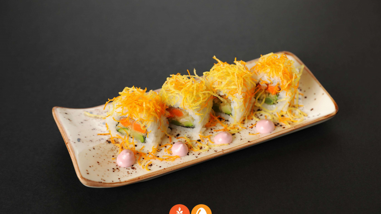 118.Ura tempura vegetal (8u)