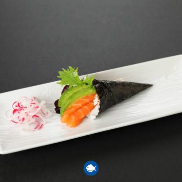 139.Temaki salmon (1u)