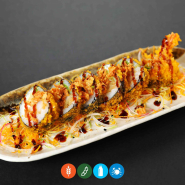141.Hot furai tempura (6u)