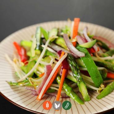 60.Salteado de verduras