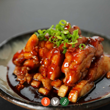 34.Pollo teriyaki