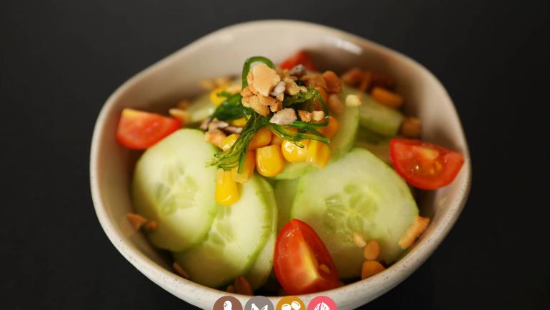 5.Ensalada de pepino