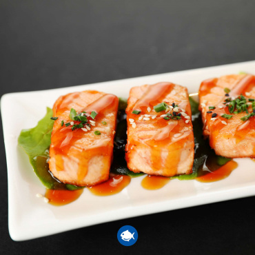 55.Salmon a la plancha (5u)